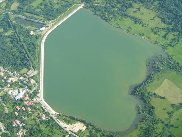 jezero iz zraka
