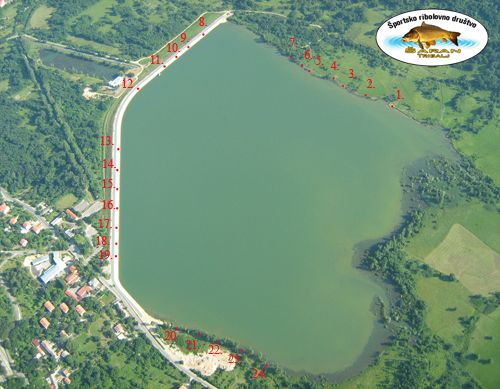 pozicije na jezeru